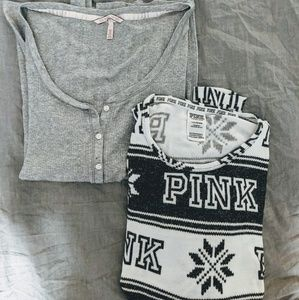 Victoria's Secret Pajama Tops